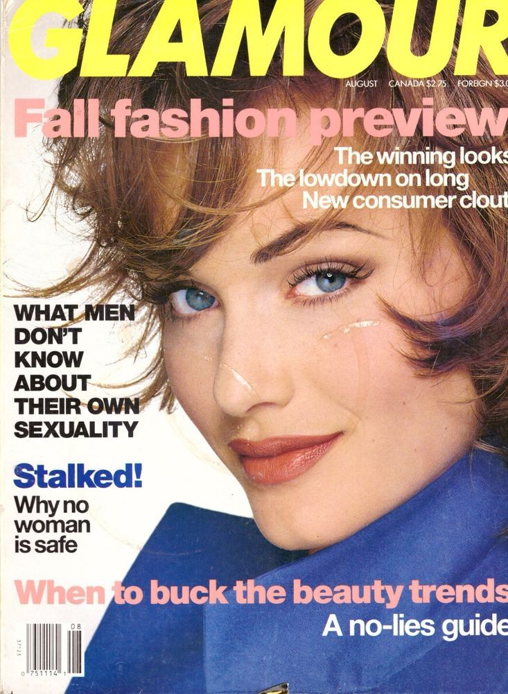 1992 Glamour Magazine Amber Valletta Hillary Clinton Tori Amos  Vintage VTG 90s | eBay