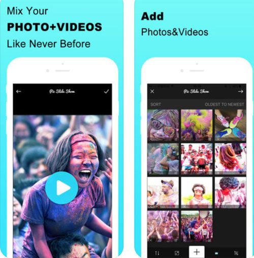 Application to Mix Music Photo Video montage video from the photo album professional fun and very free ! Free Apps Montage video News Apps Programs video Video apps