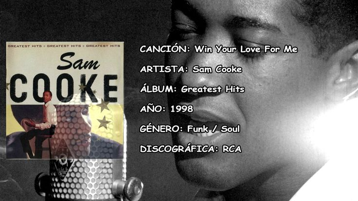 Win Your Love For Me Greatest Hits Sam Cooke