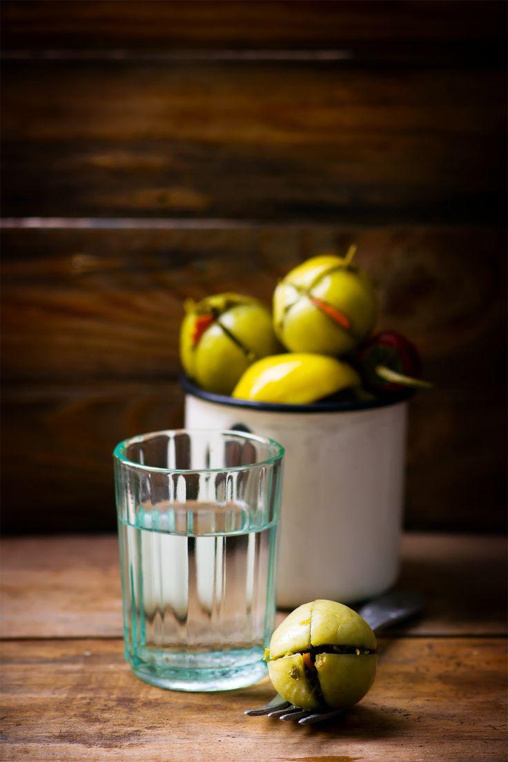 Маринованные зеленые помидоры — Кулинарный Блог