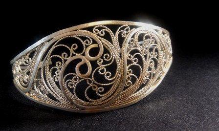 Silver Filigree Cuff Bracelet Veraison Series on Etsy by Meliciap, $325.00