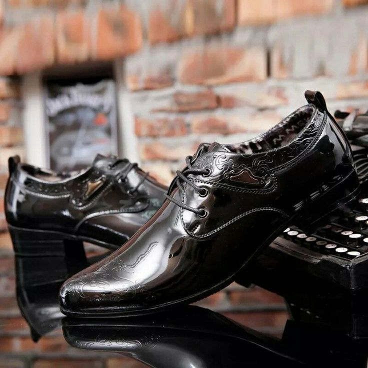 US $24.97 <Click to buy> ECTIC High Quality Classical Patent Leather Men Business Dress Shoes Derby Shoes Men's Flat Oxfords Wedding Party Shoes #oxfordshoes