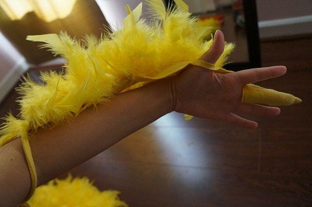 Halloween DIY: Paulina's Big Bird Costume   Lauren Conrad