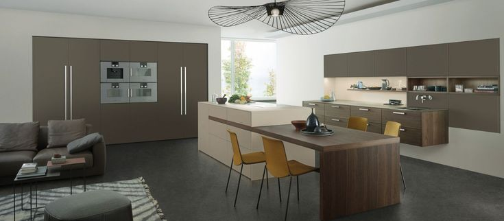 UMBER › Les Couleurs® Le Corbusier › News › Kitchen | LEICHT – Modern kitchen design for contemporary living