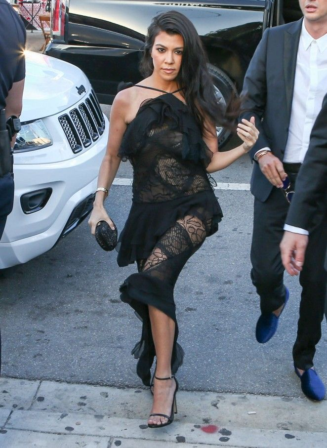 Kourtney Kardashian at Isabela Rangel and David Grutman's Wedding in Miami