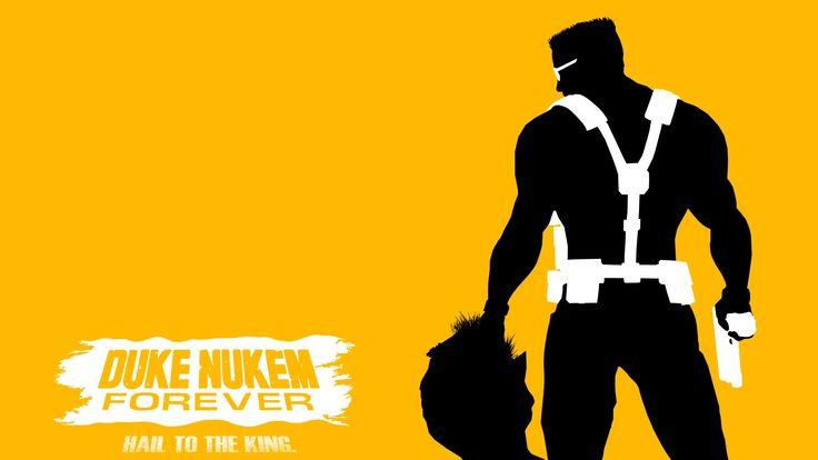 Beautiful Duke Nukem Forever Sant John Back Head Gun Wallpaper Wallpaper