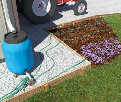Rain harvesting how to make a rain barrel work for your for How to make your own rain barrel system