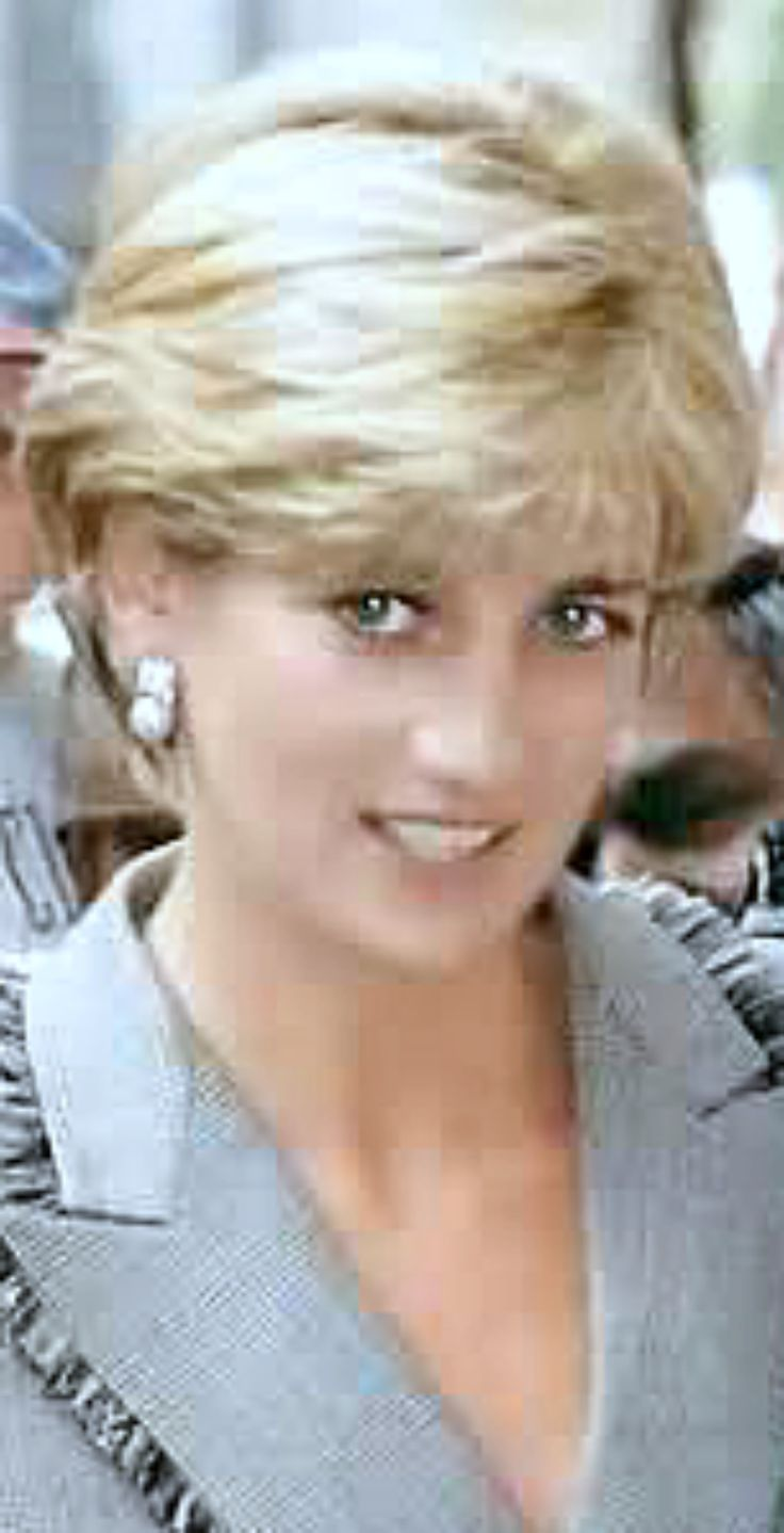 Hairstyles Princess Diana Early