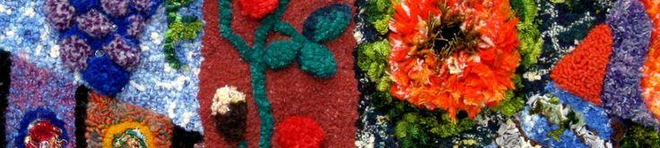 Proddy Rug…on Hessian feedsack – Kilt wool | RugCrafting Australia