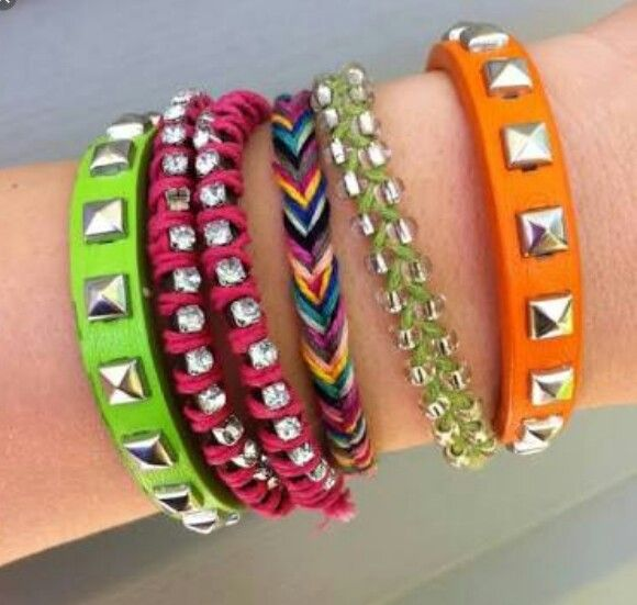 DIY Bangles for teen age girls