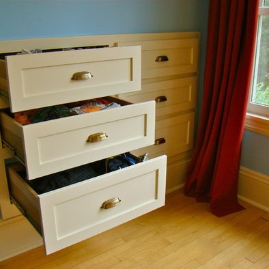 Built in drawers design pictures remodel decor and for Built in bedroom storage ideas