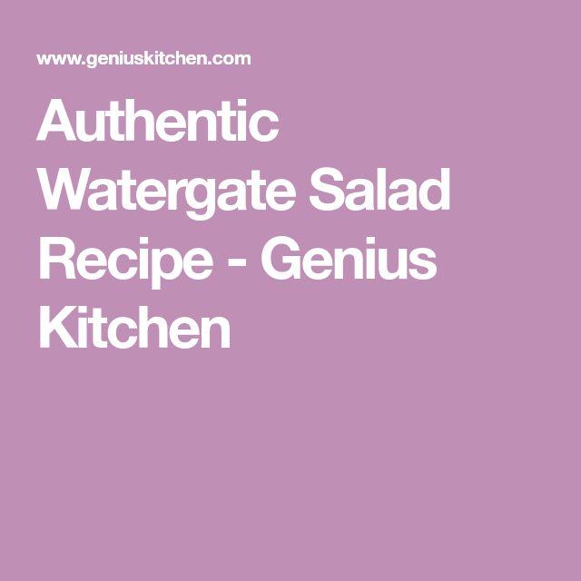 Authentic Watergate Salad Recipe - Genius Kitchen