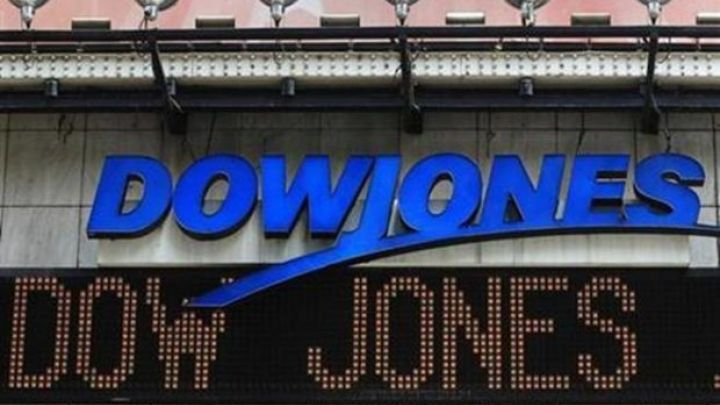 Dow Jones industrials close above 21000 for first time