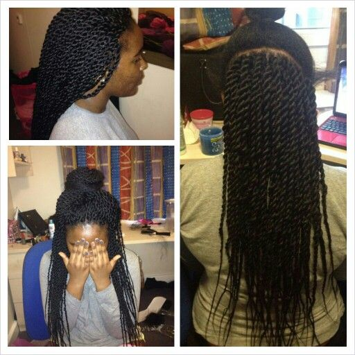 Crochet Braids Senegalese Hair : Crochet senegalese twists I did: Crochet Senegalese Twist, Braids ...