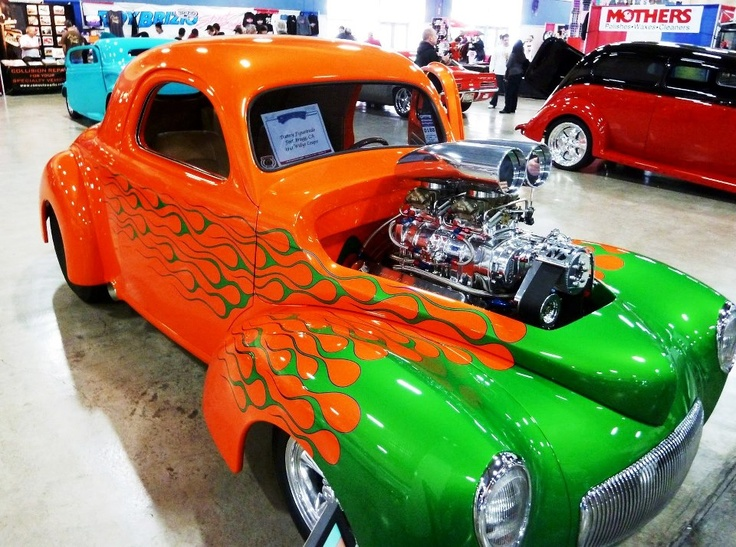 Best Cars With Flames Images On Pinterest Custom Cars Cool