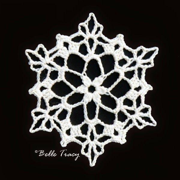 Free Irish Crochet Snowflake Pattern : 193 best images about horgolt karacsonyi d?sz on Pinterest ...