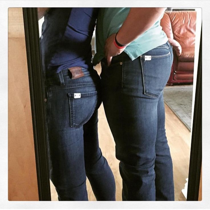"""His & Hers Barbell jeans  Best denim ever!!!"" @richardwblake @amberstegner  Make sure to check out your very own His & Hers pair at www.BarbellApparel.com. #JeansForQuads #TeamBarbell"