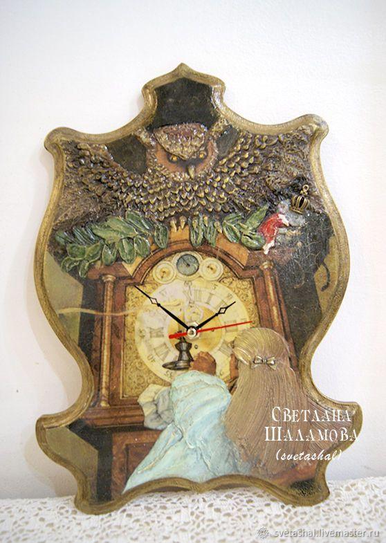 """Купить Часы """"Ожившие фантазии Мэри"""" -2 в интернет магазине на Ярмарке Мастеров"""