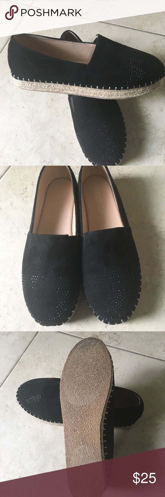 Shoes Great condition!! Worn once!  A little bling..really sharp! steven ella Shoes Flats & Loafers