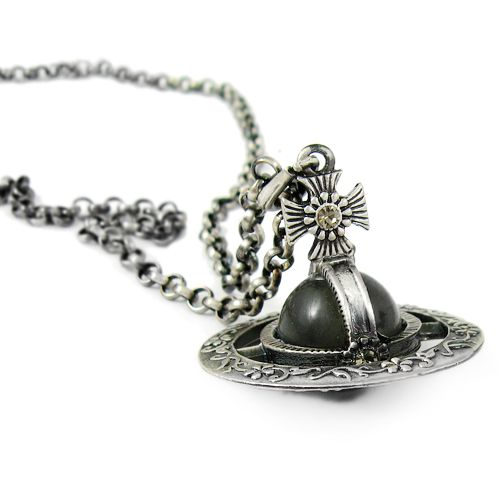 Tiny Ornamental Orb Pendant : Cheap Vivienne Westwood Jewellery Uk Sale Online £45