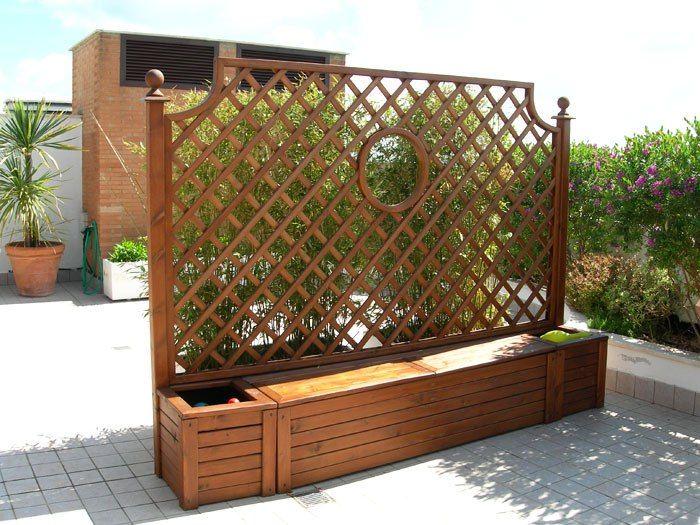 Oltre 25 fantastiche idee su fioriere di legno su for Grigliato leroy merlin