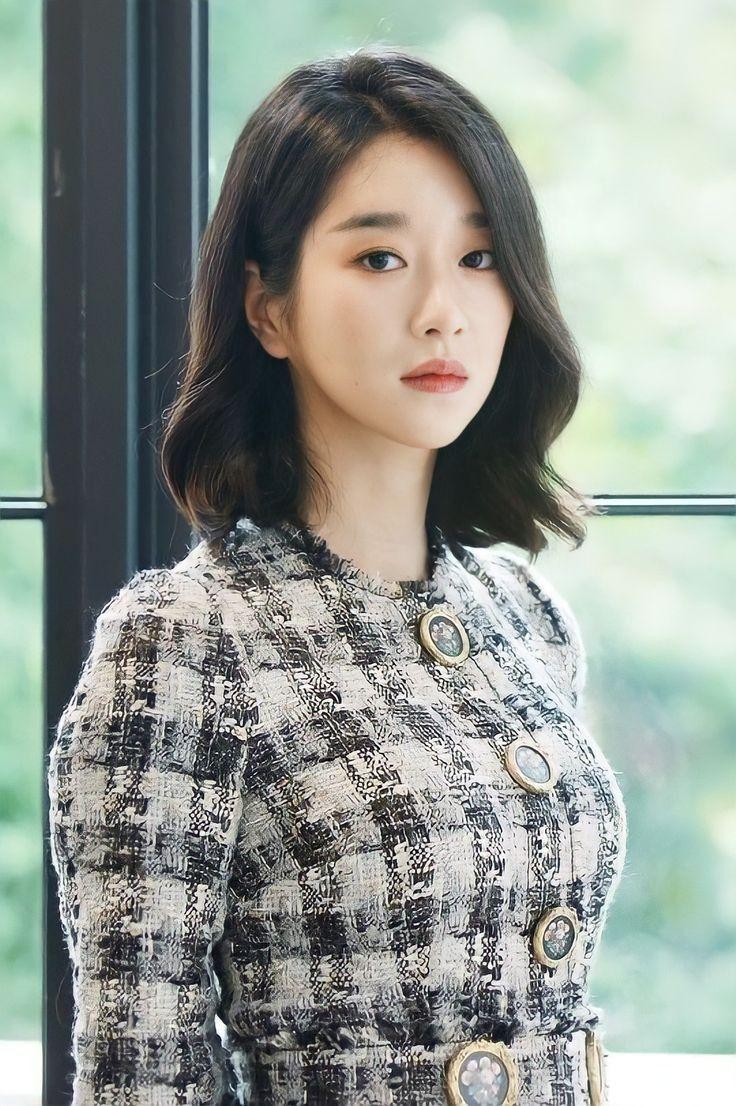 Seo Ye-ji : ye-ji, Korean, Short, Hair,, Styles,, Asian