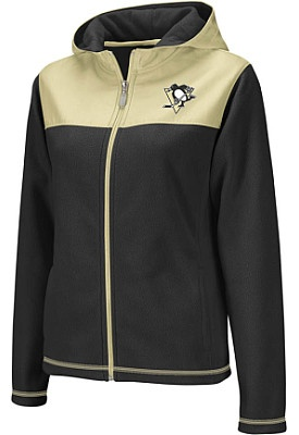 Reebok Pittsburgh Penguins Women's Face-Off Microfleece Jacket