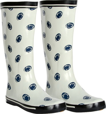 Penn State Nittany Lions Women's All-Over Print Rubber Rain Boots