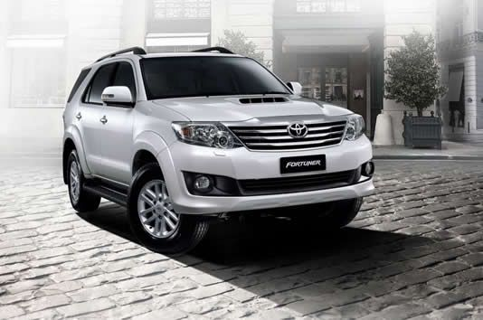 2012 Toyota Fortuner Facelift revealed in Thai website: Details and Features
