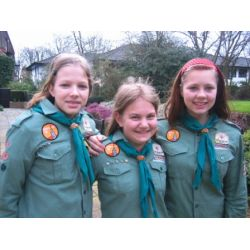 Girl scouts in norway