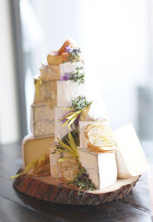 Wedding Cake California Cheeses