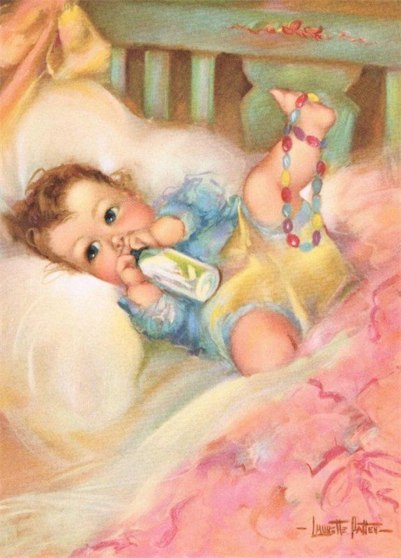 Малыши- винтажные картинки. Обсуждение на LiveInternet - Российский Сервис Онлайн-Дневников