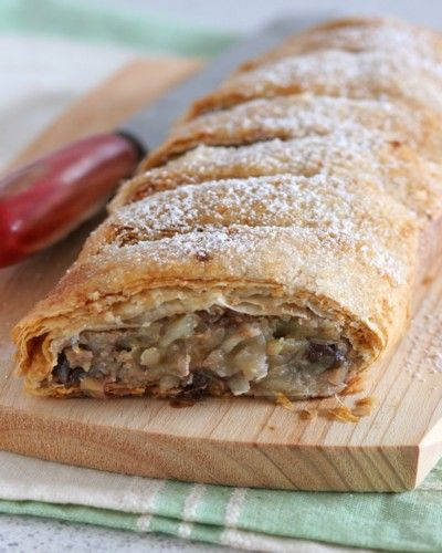 Apple Strudel | FOOOOOOOOOOD! | Pinterest