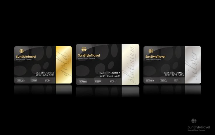 VIP CARD member colors