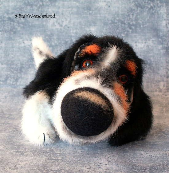 Basset hound Buford Otis special order by By Alisa Shangina | Bear Pile