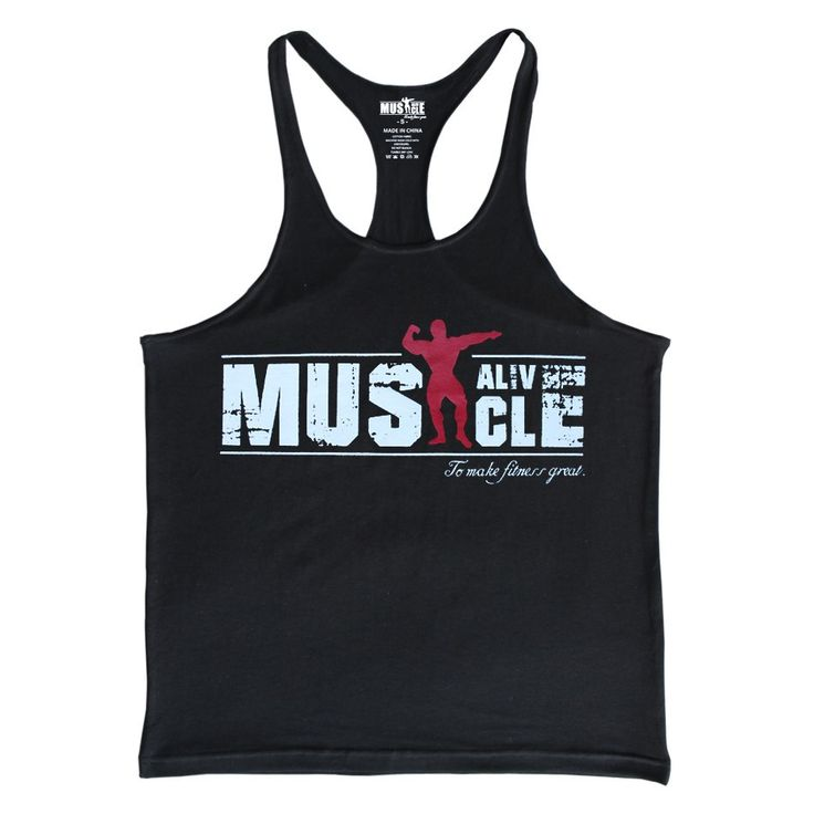 Muscle Alive Men's Tank Top