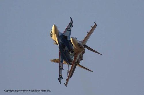 The Russian Knights aerobatic team