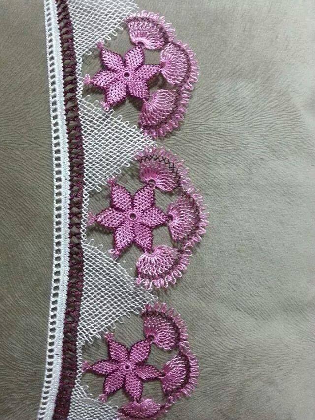 Turkish needle lace Oya
