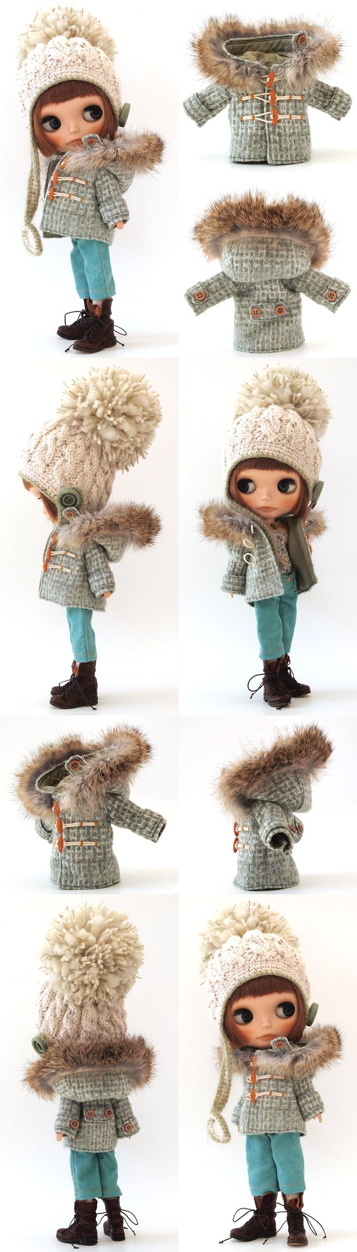 INSPIRATION: Blythe outfit by Lucalily [362] Look at the detail on these tiny clothes!!