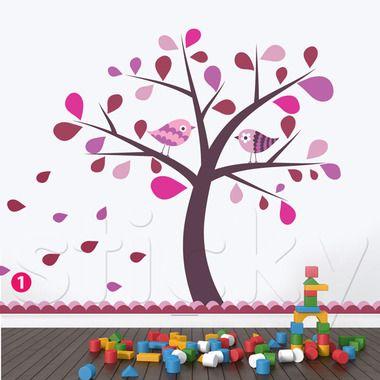 Αυτοκόλλητο τοίχου KIDS TREE5