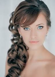 Image result for side ponytail wedding hair with veil