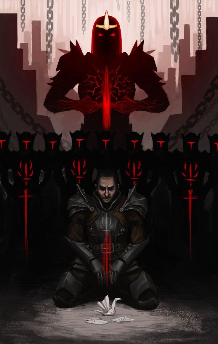 Samson from Dragon Age, Julia Sm on ArtStation at https://www.artstation.com/artwork/G2dEQ