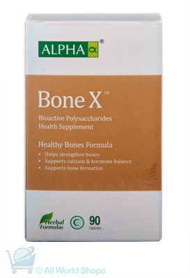 BoneX - Healthy Bones Formula - Alpha - 90 capsules | Shop New Zealand NZ$105