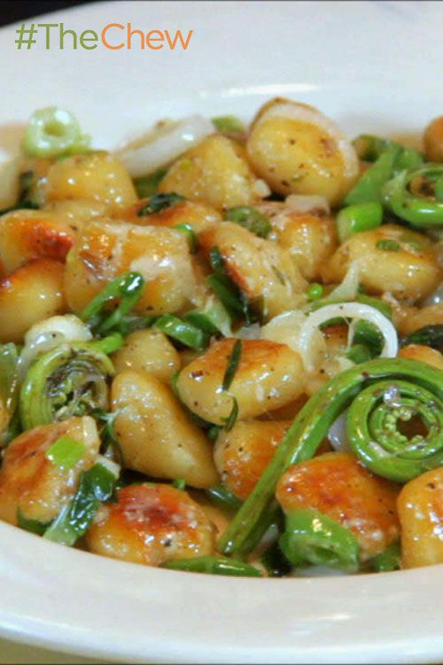 Gnocchi with Spring Vegetables | Recipe | Vegetables ...