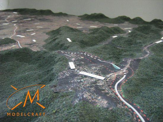 1:10 000 Architectural Model by Modelcraft (NSW) Pty Ltd