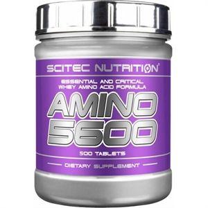 Amino 5600 - Scitec - 500 tabletten  Amino 5600 is een complete aminozuren formule met alle essentiële en belangrijke aminozuren. Amino 5600 ondersteunt spiergroei en spierbehoud wanneer je veel van je lichaam vergt bijvoorbeeld wanneer je op dieet bent of extreem lang en zwaar traint.  EUR 26.90  Meer informatie