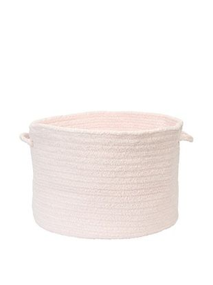 58% OFF Colonial Mills Simple Chenille Basket (Blush Pink)