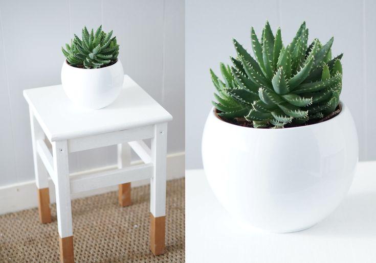 Home Staging table de chevet bicolore | LOVELY LOVELY TRENDS