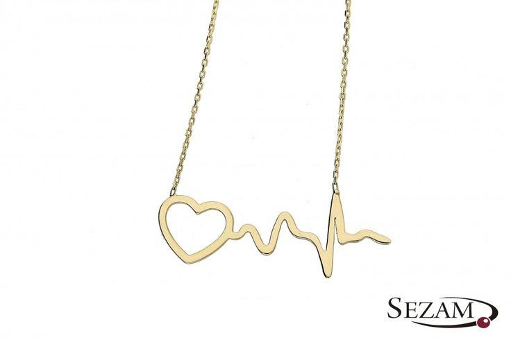 Tego wzoru w kolekcji Happy jeszcze nie było ! #serce #puls #celebrytka #happy #bizuteria #naszyjnik