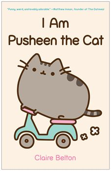 Who is Pusheen? This collection of oh-so-cute kitty comics—featuring the chubby, tubby tabby who has taken the Internet by storm—will fill you in on all the basics. #pusheen #book